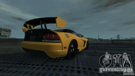 Dodge Viper SRT-10 ACR 2009 для GTA 4