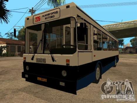 ЛиАЗ 5256.00 для GTA San Andreas вид сзади слева