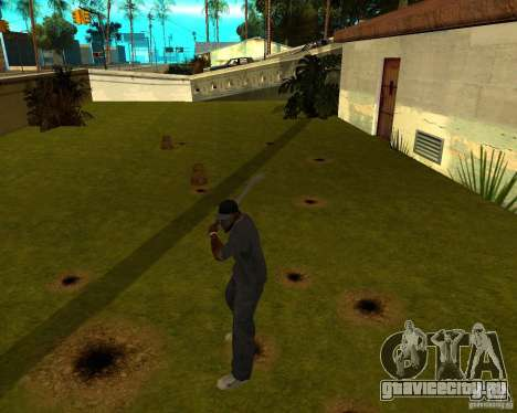 Водопроводная труба для GTA San Andreas третий скриншот