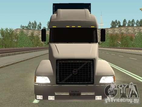 Volvo VNL для GTA San Andreas вид сзади