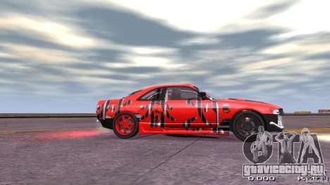 Nissan SkyLine R33 Gt-R S.R для GTA 4 вид сзади слева