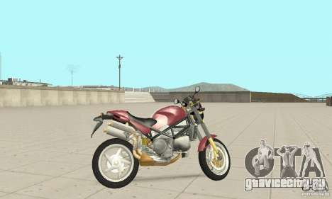 Ducati Monster S4R для GTA San Andreas вид сзади слева