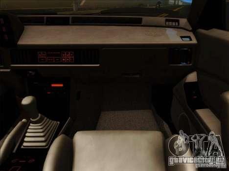 Mitsubishi Starion ESI-R 1986 для GTA San Andreas вид сбоку