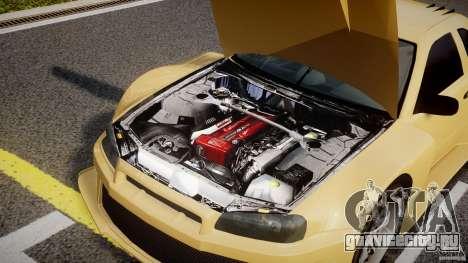 Nissan Skyline R34 v1.0 для GTA 4 вид справа