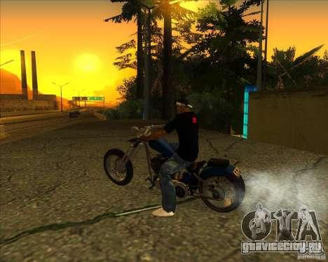 Hexer bike для GTA San Andreas вид слева