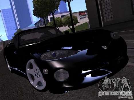 Dodge Viper для GTA San Andreas салон