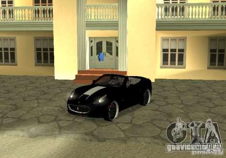 Ferrari California 2011 для GTA San Andreas