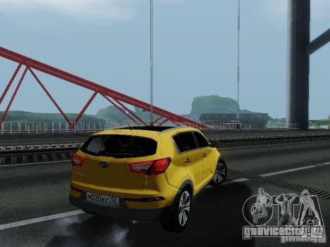 KIA Sportage для GTA San Andreas вид слева