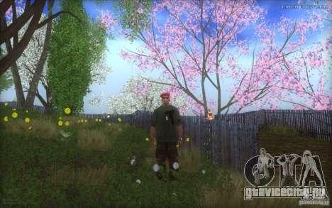 Spring Season для GTA San Andreas