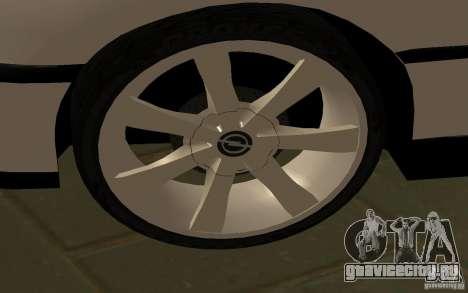 Opel Omega для GTA San Andreas вид слева