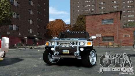 Hummer H3 2005 Chrome Final для GTA 4