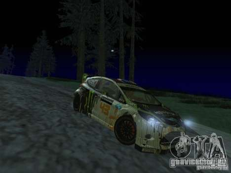 Ford Fiesta Ken Block WRC для GTA San Andreas