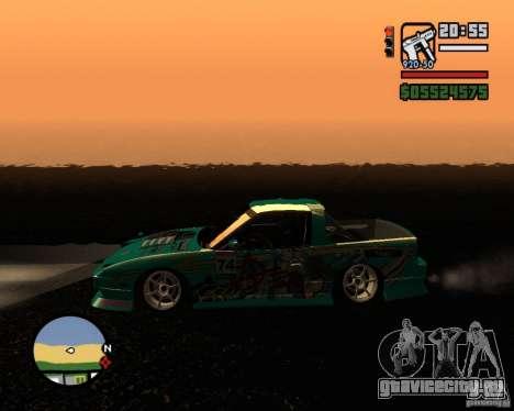 Nissan RPS13 Pick-Up Moscow Drift для GTA San Andreas вид слева