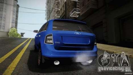 Ford Edge 2010 для GTA San Andreas вид сзади слева