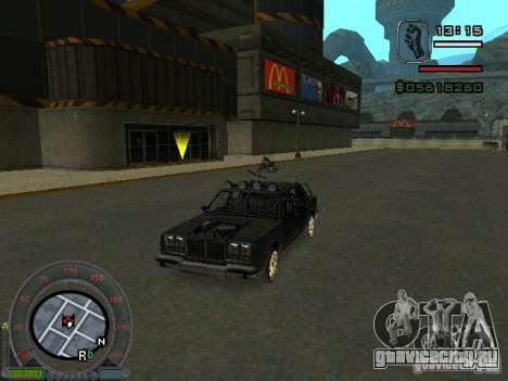 Новый Greenwood для GTA San Andreas