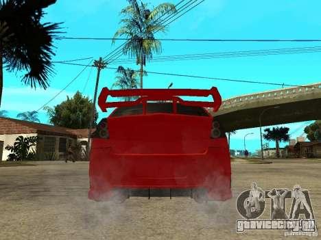 Dacia Logan Tuned v2 для GTA San Andreas вид сзади слева