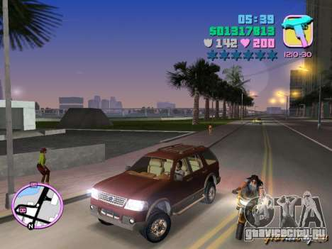 Ford Explorer для GTA Vice City вид слева