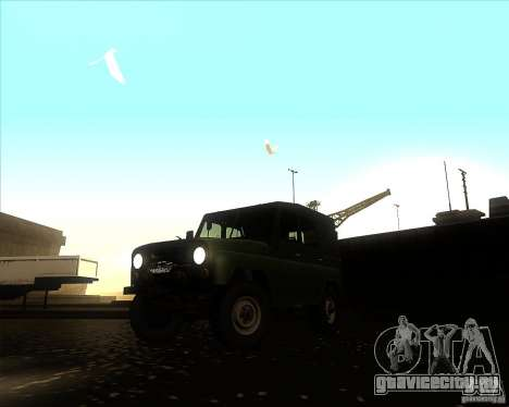 Уаз 31512 Военный для GTA San Andreas