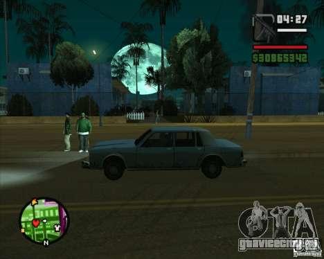 Луна для GTA San Andreas второй скриншот