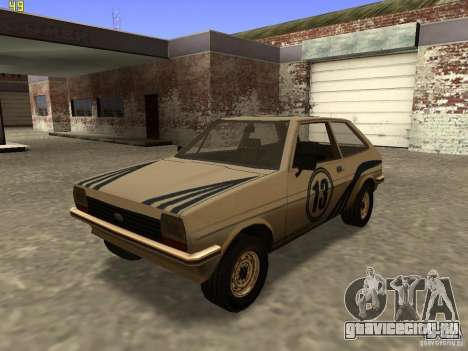 Ford Fiesta 1981 для GTA San Andreas