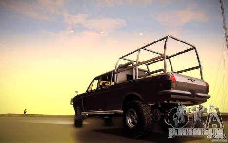 ГАЗ 2402 4x4 PickUp для GTA San Andreas вид сзади