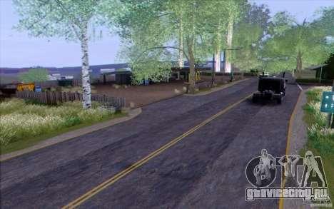 Сельская местность HQ для GTA San Andreas четвёртый скриншот