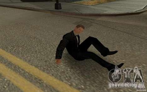 Агент 007 для GTA San Andreas восьмой скриншот