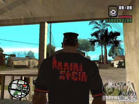 Футболка Rammstein v2 для GTA San Andreas второй скриншот