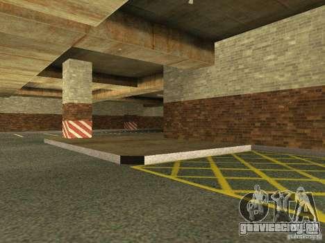 Новый подземный гараж полиции в Лос Сантосе для GTA San Andreas