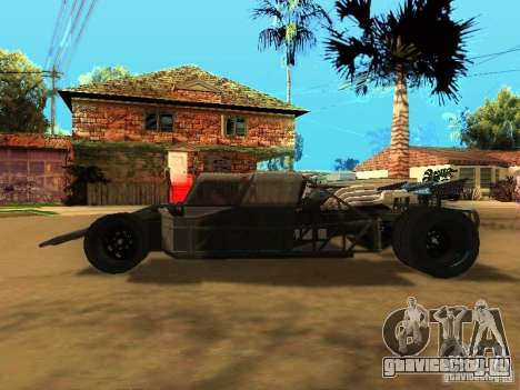 Fast & Furious 6 Flipper Car для GTA San Andreas вид справа