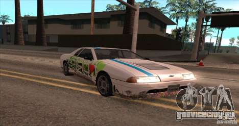Paintjob for Elegy для GTA San Andreas вид слева