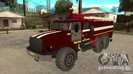 Урал 43206 пожарный для GTA San Andreas