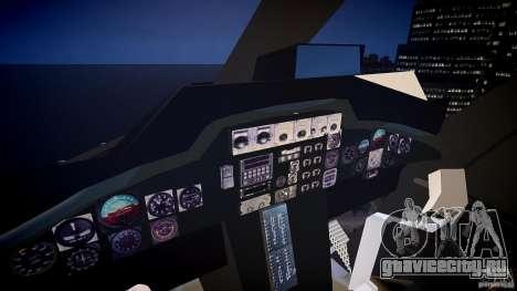 Airwolf v1.0 для GTA 4 вид сзади