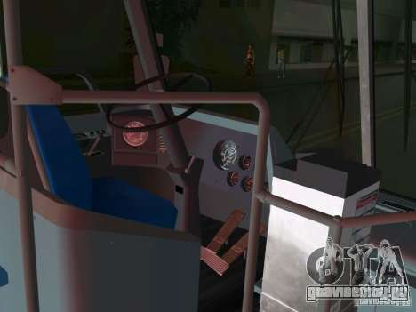 GMC RTS для GTA Vice City вид изнутри