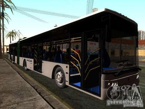 Троллейбус ЛАЗ E301 для GTA San Andreas вид сзади слева