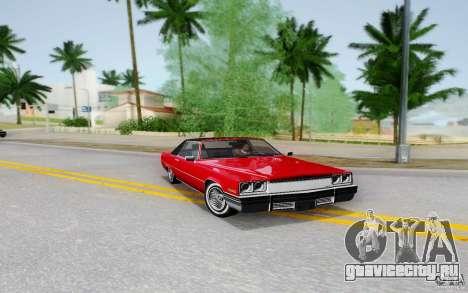 Manana from GTA 4 для GTA San Andreas вид слева