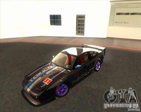 Nissan 240SX for drift для GTA San Andreas вид сзади слева