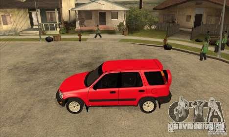 Honda CRV 1997 для GTA San Andreas вид слева