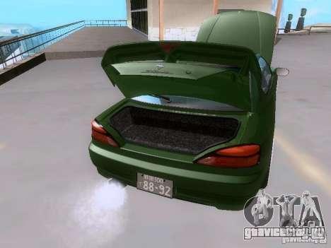 Nissan Silvia S15 drift для GTA San Andreas вид сверху