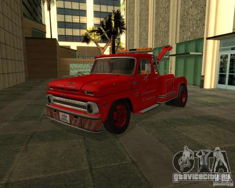 Chevrolet C20 Towtruck 1966 для GTA San Andreas