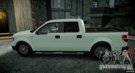 Ford F150 XLT v1.3 для GTA 4 вид сзади