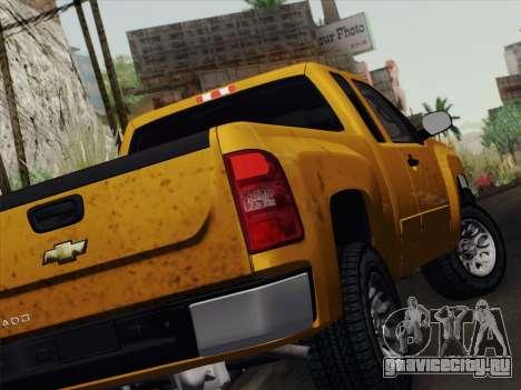 Chevrolet Silverado 2500HD 2013 для GTA San Andreas вид справа