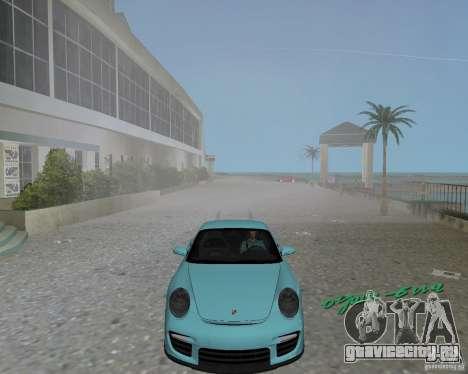 Porsche 911 GT2 для GTA Vice City вид слева