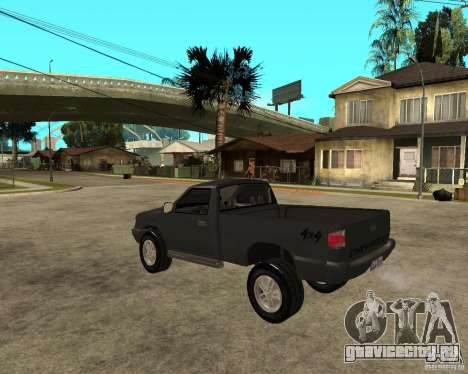 Chevrolet S-10 для GTA San Andreas вид слева