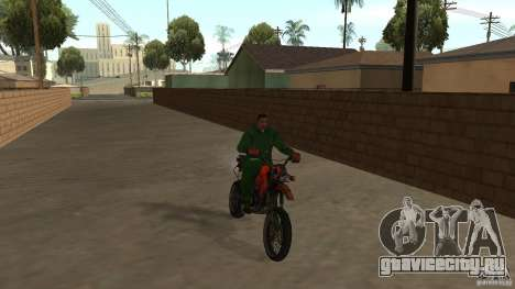 Мотоцикл Мирабаль для GTA San Andreas вид слева