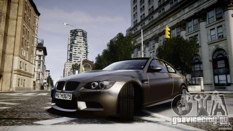 BMW M3 GT-S V.1.0 для GTA 4 вид сзади