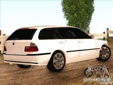 BMW M3 E46 Touring для GTA San Andreas вид справа