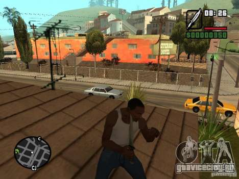 Нож для GTA San Andreas третий скриншот