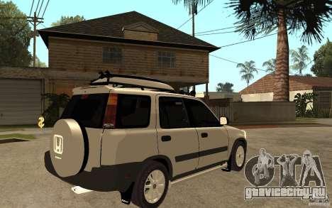 Honda CRV 1997 для GTA San Andreas вид справа