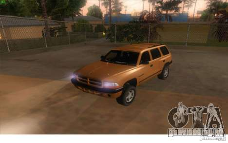 Dodge Durango 1998 для GTA San Andreas